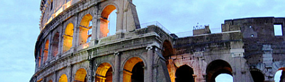 Coliseum in Roma Italy